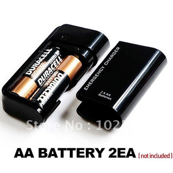 Зарядка телефона от батареек